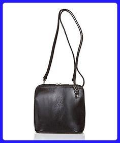 2b829231eb Giorgio Costa Genuine Leather Crossbody - Black - Crossbody bags (*Amazon  Partner-Link)