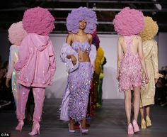 Thanks to his eye-catching and fun designs, Ashish's presentations are always a highlight of London Fashion Week