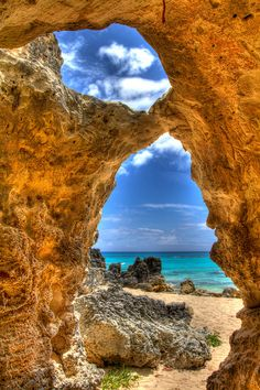 Church Bay Cave, Bermuda. I want to go see this place one day. Please check out my website thanks. www.photopix.co.nz