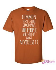 Short sleeve t-shirt - Common sense