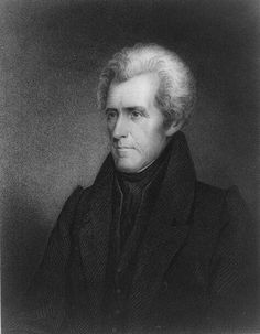 PRESIDENT ANDREW JACKSON CALLED FOR AN INDIAN REMOVAL ACT