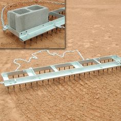 Eliminate cinders and clumped dirt from the field with the SSG / BSN Big League Field Drag. The drag features easy-to-replace, staggered teeth mounted on a hot-dipped galvanized steel frame. Shed Floor Plans, Lean To Shed Plans, Run In Shed, Free Shed Plans, House Plans, 12x24 Shed, Baseball Field Dimensions, Wicking Beds, Ranch