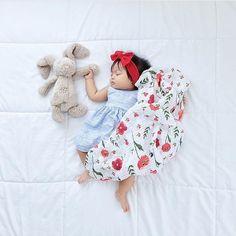 Sleep is so good  mari.suzawa Summer Poppy Muslin ships this Fri.  amp 84378846e22