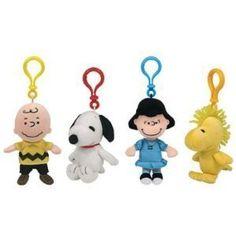efc86d460ca TY Beanie Babies - Set of 4 Peanuts ( Charlie Brown
