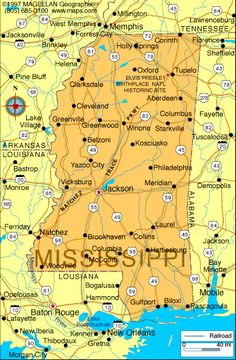 Mississippi--I am going to Tenn in July and I am thinking I need to cross MS off my state list.