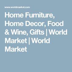 Home Furniture, Home Decor, Food & Wine, Gifts | World Market | World Market