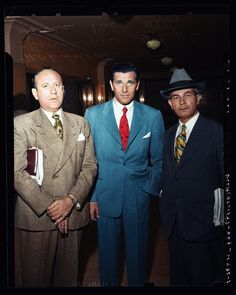 Bugsy Siegel and his lawyers