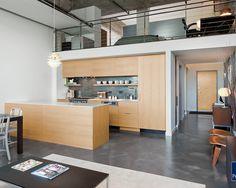 Cozinha pequena ideal para loft.