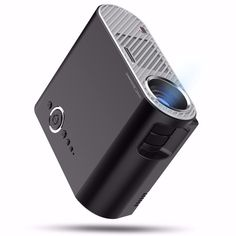 GP90 Portable LED Projector 3200LMS hd projector LCD Suporte para projetor 1080P Home Theater