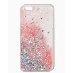 Glitter Confetti iPhone 6/6+ Case ($15) ❤ liked on Polyvore featuring accessories, tech accessories, cases, phone, extra and phone case