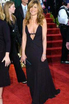 Jennifer Aniston, Valentino, Golden Globes 2004