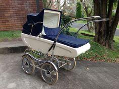 Pram Stroller, Baby Strollers, Vintage Pram, Prams And Pushchairs, Baby Buggy, Dolls Prams, Baby Carriage, Present Day