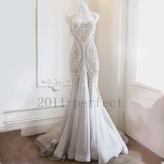2017 Real Pictures Wedding Dresses Pearls Sweetheart Mermaid Custom Bridal Gowns. Luxury Feather Mermaid Wedding Dresses Long Sleeve Bridal Gowns Custom 2017 New. 2017 Beaded Pearls Wedding Dresses Lace Mermaid Bareback Bridal Gowns Custom. | eBay!
