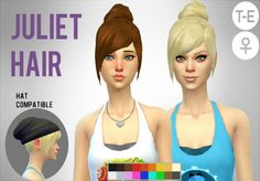 Simduction - Juliet Hair by Simduction New hair for females....