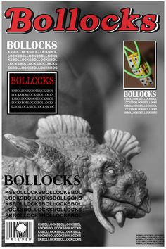 BOLLOCKS by Ravi Bellardi, via Behance