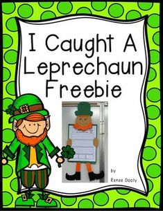 Here is a fun writing and craft for St. Patrick's Day!  Check out my blog for more info: Fantastic First Grade Froggies