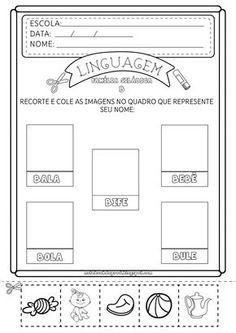 Para fixar o reconhecimento das sílabas da família silábica do B , criei estas atividades de consciência fonológica. Uma é o inverso da out...