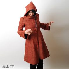 So many fun and cool things in this shop. With just an oversized hood (rather than goblin) and some pockets, this would be perfect.