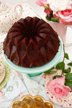 Bundt cake de chocolate y café