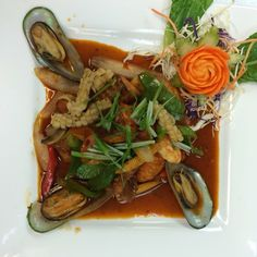 Photo of Andaman Thai Cuisine Sushi Bar - Oklahoma City, OK, United States. If you like spicy Thai food recommend this one - Spicy seafood, our seafood special!!