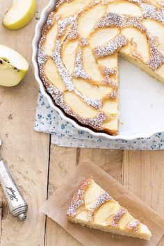 Low-Fat Apple Cake  - CountryLiving.com