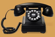 This touch-tone number resembles a 1930s rotary dial-up model—and has authentic heft. From @vtcountrystore