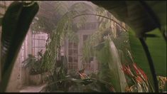 View of the conservatory from the movie 'Green Card'