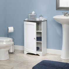 Sauder Bath Caraway Collection Floor Cabinet | from hayneedle.com
