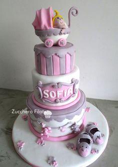 Baby - Cotton Candy Cake Design