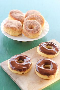 Baked Yeast Doughnuts