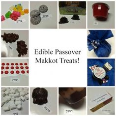 edible 10 plagues 300x300 Creative & Frugal Ten Plagues Shtick Ideas for Your Passover Seder