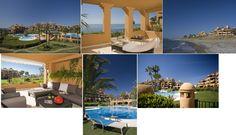 Apartamentos de lujo en la Costa del Sol, a orillas del Mediterráneo.