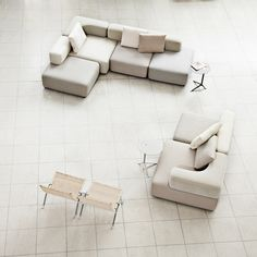 Shop SUITE NY for the Alphabet Sofa designed by Piero Lissoni for Fritz Hansen and more modern furniture including three-seater sofas and modular sofas