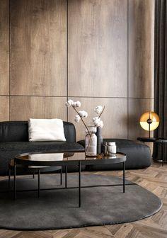 Cool 35 Awesome Modern Living Room Design Ideas For Your Inspiration Elegant Living Room, Living Room Modern, Interior Design Living Room, Modern Interior, Modern Decor, Living Room Designs, Living Room Decor, Interior Stairs, Apartment Interior