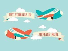 Put yourself in airplane mode