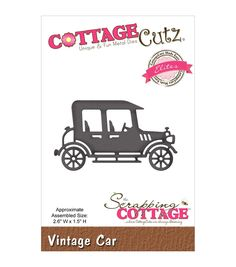 CottageCutz Elites Vintage Car Die