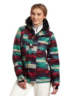 DC Women's Data Snowboard Jacket, Pink Plaid, Medium by DC. $121.43. DC has once again delivered the highest quality outerwear for the new season.  Designed to tackle all that winter can bring, keeping you dry, warm and able to enjoy the winter activities.