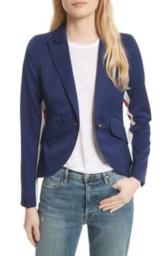 Smythe Smythe Racing Stripe Blazer available at #Nordstrom