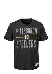 Pitt Steelers Kids Black Descendant Fashion Tee