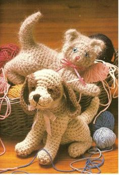 amigurumi paradise and cat patterns for crochet dogs dt1010fo