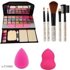 Makeup Kits Makeup kit  Product Name: Trendy eye shadow compact Finish: Shimmer Multipack: 1 Sizes Available: Free Size   Catalog Rating: ★4 (3055)  Catalog Name: Proffesional Infinite Compact CatalogID_1135724 C51-SC1245 Code: 143-7114964-477