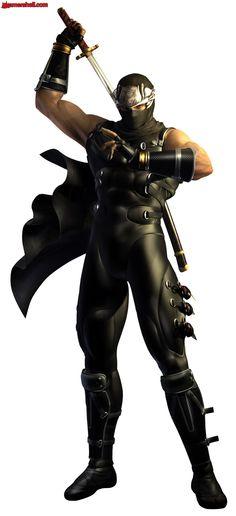 Ryu Hayabusa (Ninja Gaiden Σ) Arte Ninja, Ninja Art, I Ninja, Shuriken, Ryu Hayabusa, Ninja Games, Fictional Heroes, Zombie Hunter, Shadow Warrior