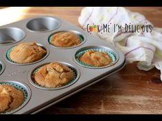 Muffins pomme-noisette végétaliens