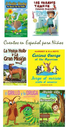 6 Cuentos en Español para Niños
