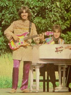 "George and John 1967 ""Magical Mystery Tour"""