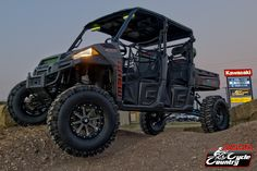 Custom 2014 Polaris Ranger 900 Crew put together by Woods Cycle Country in New Braunfels, TX. Boy Toys, Toys For Boys, Ranger Atv, Polaris Industries, Polaris Ranger Crew, Campers, Yamaha, Planes, Camper