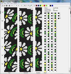 15 around bead crochet rope pattern Crochet Beaded Bracelets, Bead Loom Bracelets, Beaded Bracelet Patterns, Jewelry Patterns, Bead Crochet Patterns, Bead Crochet Rope, Peyote Patterns, Beading Patterns, Beaded Crochet
