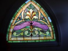 Note to self: learn how to make stained glass someday.