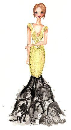 fashion illustration - pap