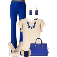 """Nude & Royal"" by maggie478 on Polyvore"